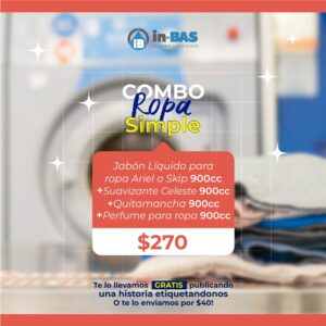 COMBO ROPA SIMPLE